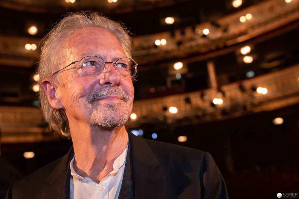 Peter Handle ausgezeichnet für sein Lebenswerk bei der Nestroy Verleihung 2018