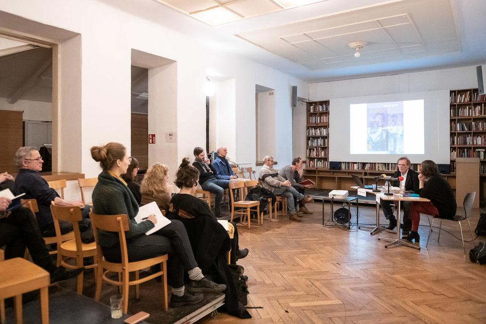 Wolfgang Ruppert im Gespräch mit Almuth Spiegler