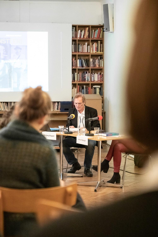 """Buchpräsentation """"Künstler!"""" von Wolfgang Ruppert"""