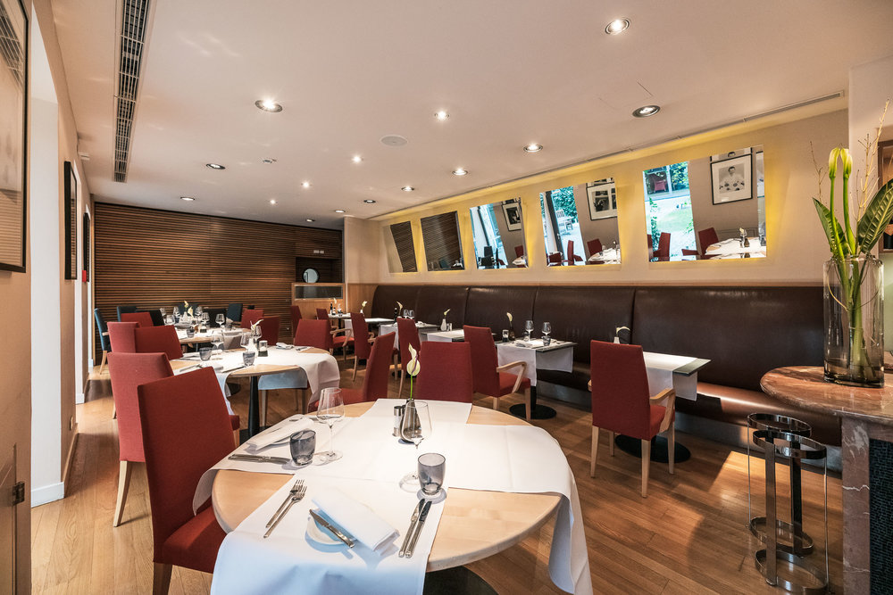 """Das Haubenrestaurant """"Collio"""" im Hotel Triest"""
