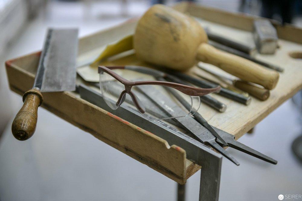 Einige der verwendeten Werkzeuge