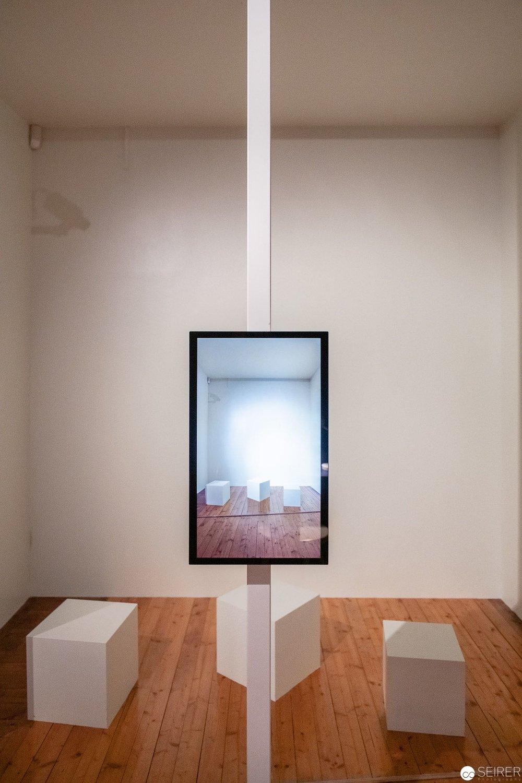 Audiovisuelle Installation zu den sechs wichtigen Orten in seinem Leben