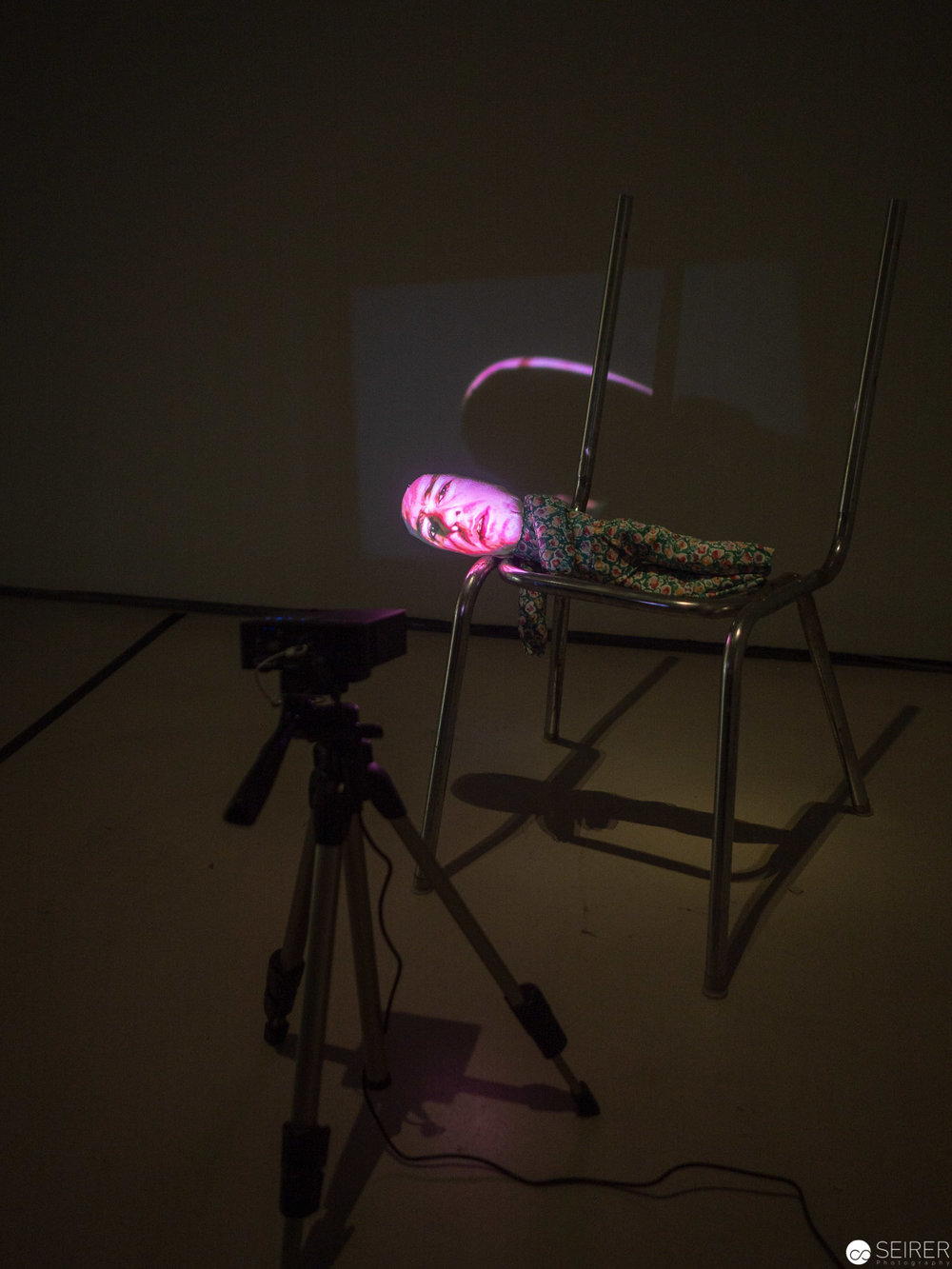 Tony Oursler, The Code, 1996, (c) Magasin III Museum & Foundation for Contemporary Art, Stockholm,