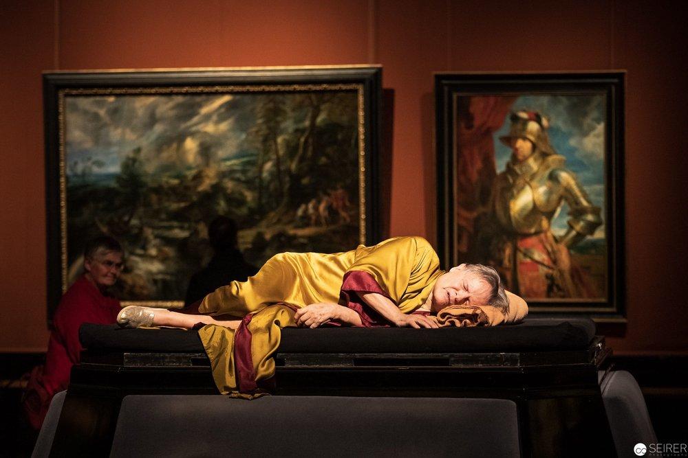 Philemon, Martin Pollack über Gewitterlandschaft von Peter Paul Rubens, es spielt Bert Oberdorfer