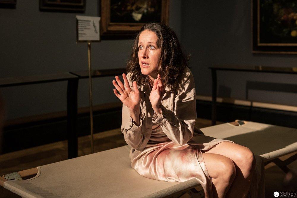 Vergissmeinnicht Milena Michiko Flasar über Alte Frau am Fenster von Gerard Dou, es spielt Sabine Haupt