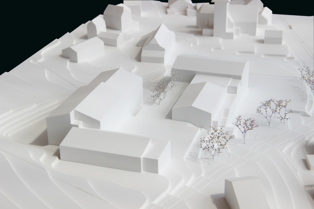 Wettbewerb Mehrzweckhalle in Ueberstorf FR Architektur