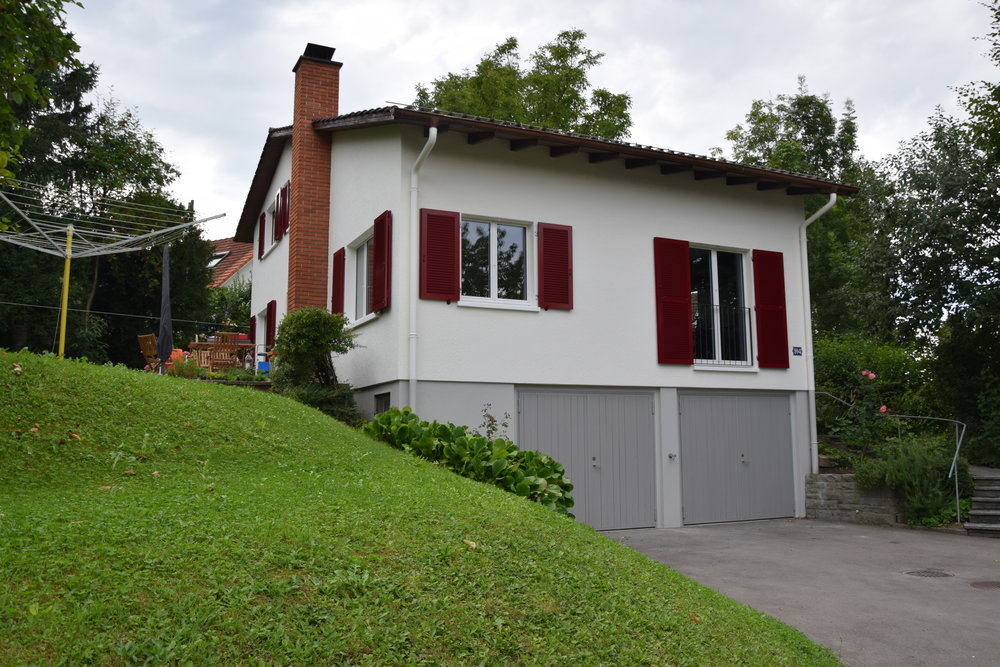 Umbau und Sanierung EFH Triemlistrasse in Zürich -