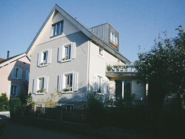 Umbau und Sanierung EFH Gartenstrasse in Urdorf -