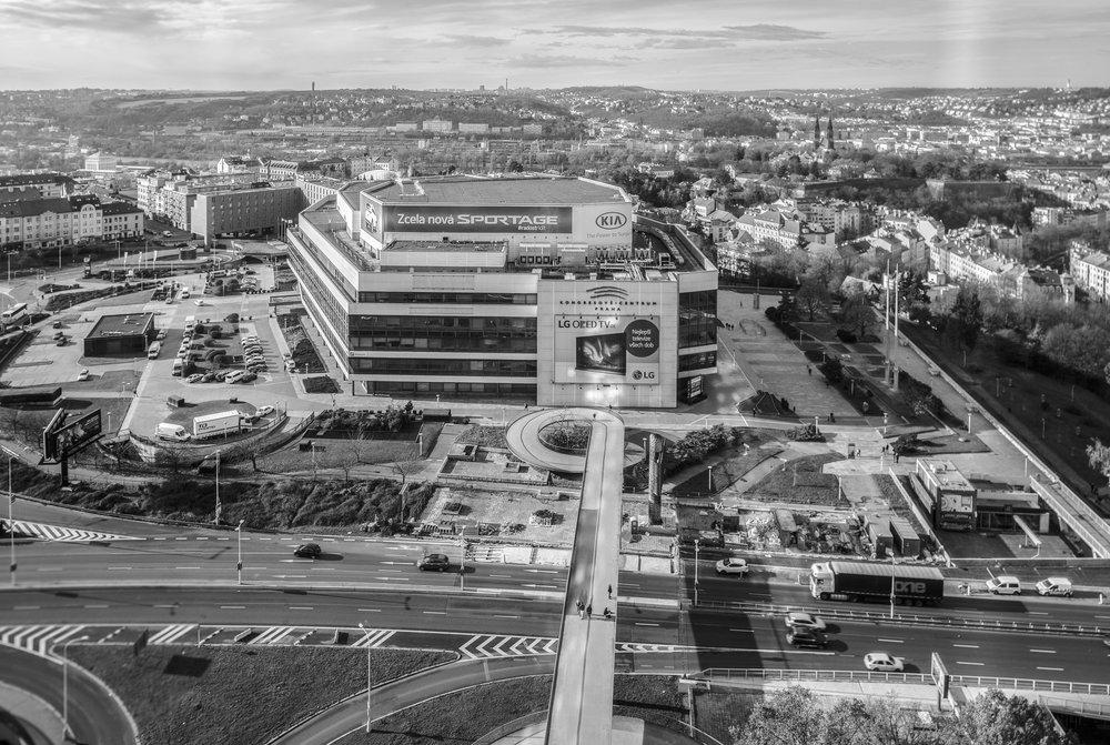 Wettbewerb Kongresszentrum Prag -