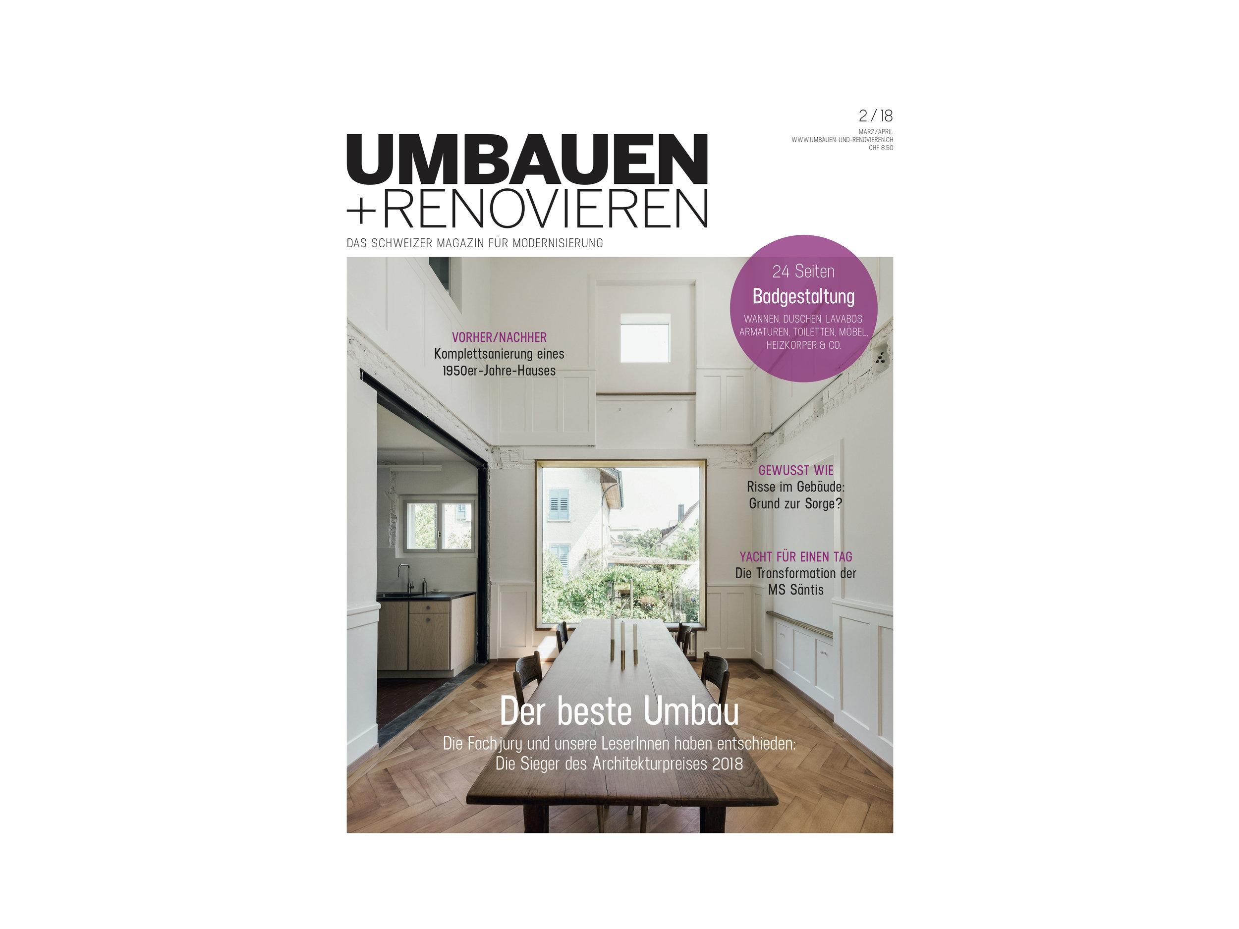 RAUMTAKT GmbH — Umbauen + Renovieren 02/18
