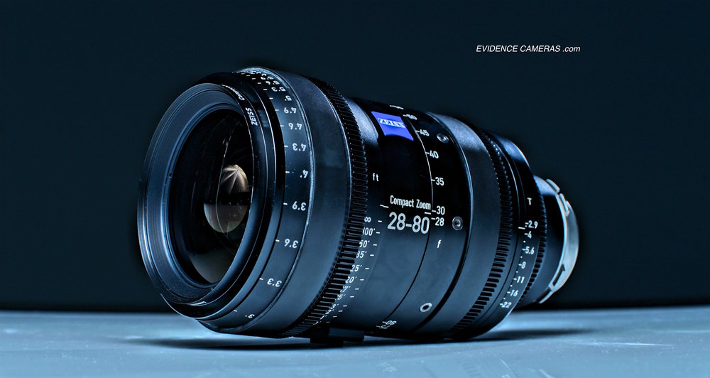 ZEISS CZ2 28-80mm T2.9 PL/EF Full Frame CINE ZOOM