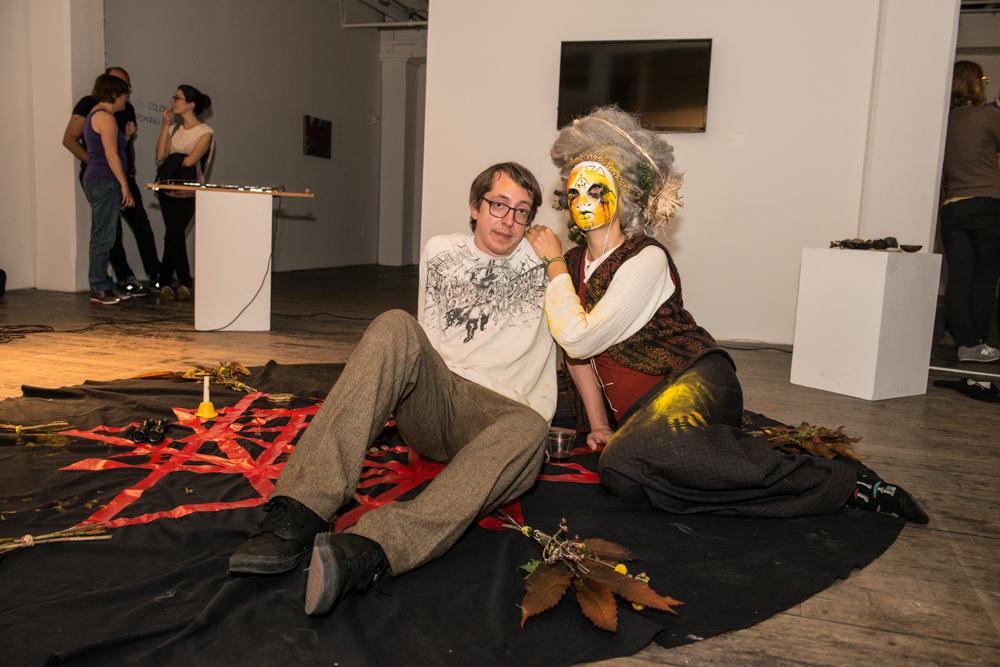 Jesse Gelaznik and Rachel Blackwell of Dirty Churchesphoto by Debbie Rasiel