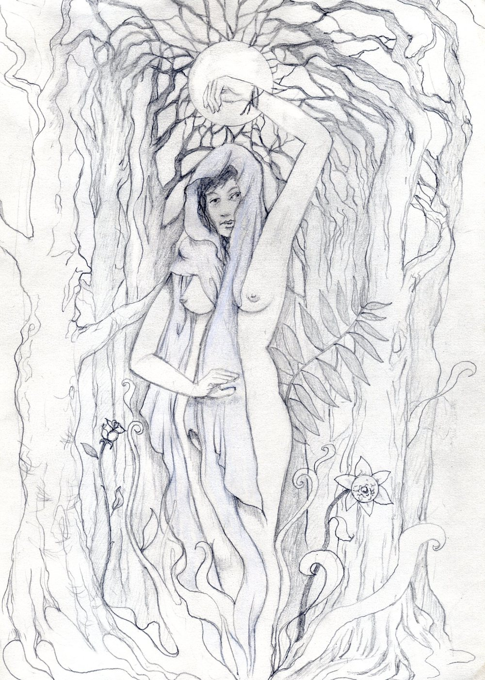 Sketch by Jesse Gelaznik