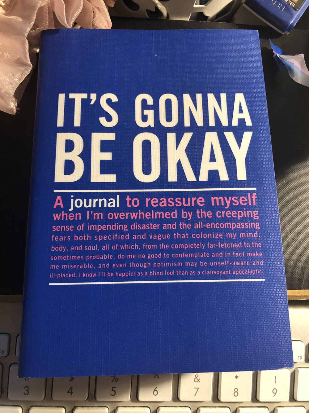 Never turn down the opportunity to buy an adorable journal.