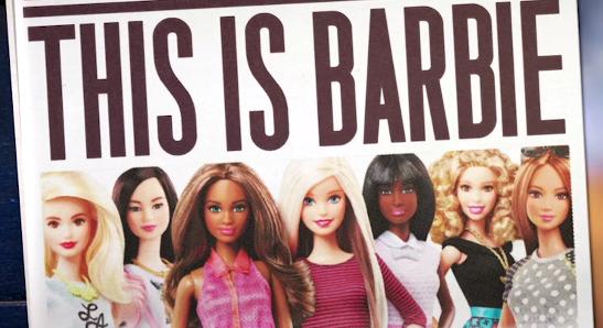 "Screenshot of ""Who is Barbie?"" video | Mattel"