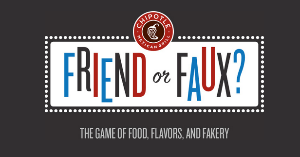 Screenshot of the placeholder page for the new Chipotle's game releasing on July 21st | Chipotlefriendorfaux.com