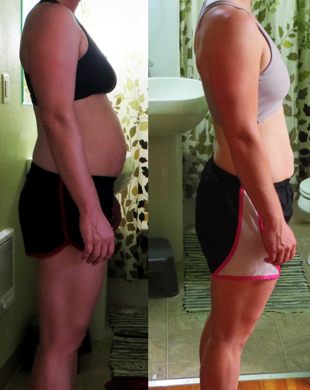 This is Rebecka's 90 day progress photo from when she joined CrossFit Train in Sept '13! Outstanding Rebecka!