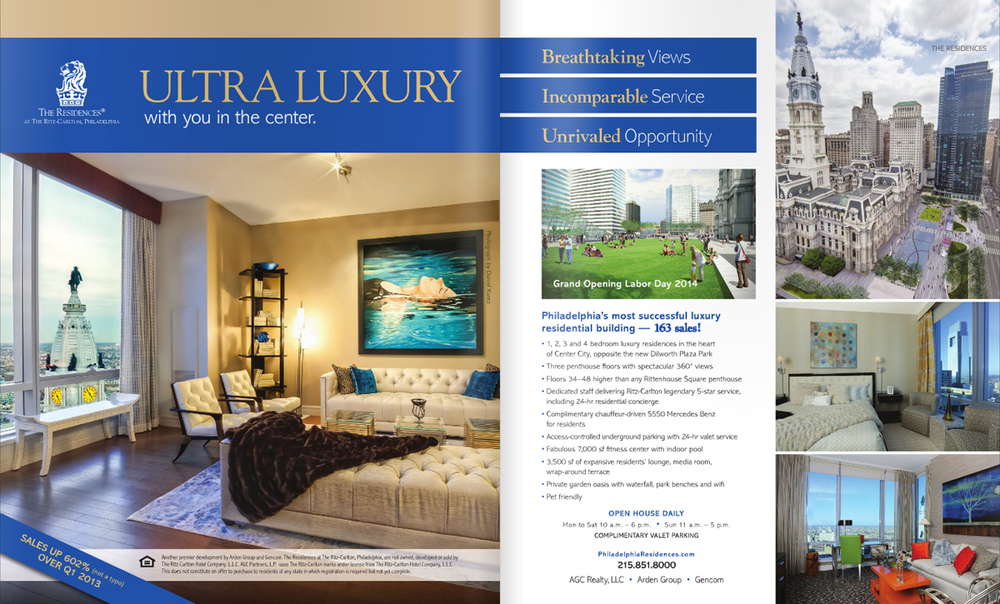 Pages 4 & 5 from the May/June 2014 issue of District Home Magazine.