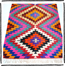 The 'Turkish Kilim Rugs' from MintSix.