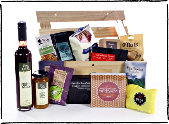 Men's gourmet gift box