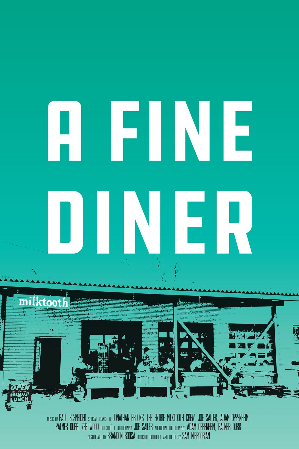 Milktooth: A Fine Diner - Milktooth: A Fine Diner is a short profile documentary film on the globally recognized restaurant, Milktooth.This unique spot has been featured on the Food Network and the Cooking Channel -- as well as being declared as one of the best restaurants in the world, by Conde Nast.Directed, Edited, & Produced by: Sam Miro