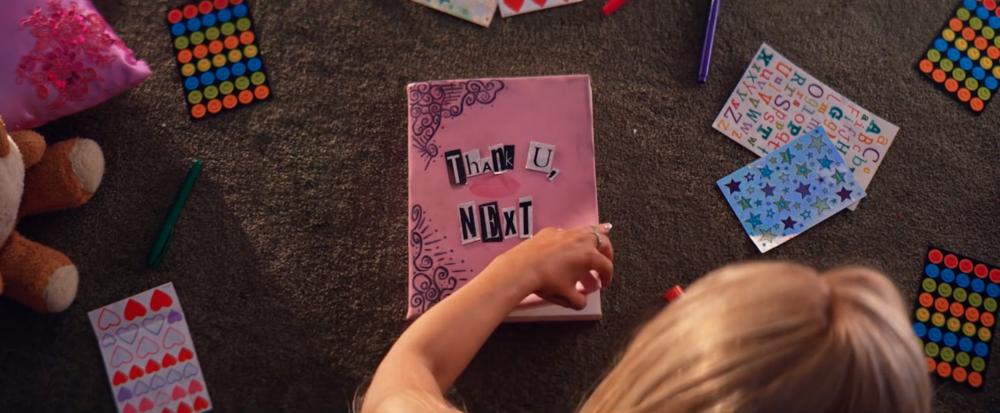 """Thank U, Next/ Burn Book Deign"