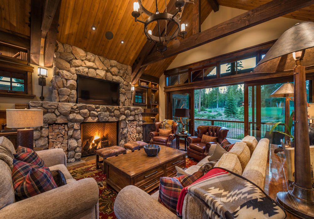 Lodge Cabin Tahoe Truckee Martis Camp CA California Traditional Studio V  Interior Architecture Design Scottsdale Arizona