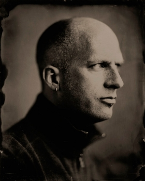 wetplate portrait by Michael Paris Mazzeo