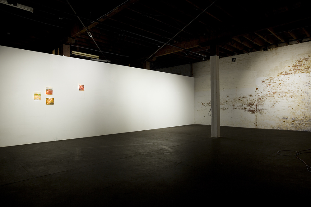 These walls will soon have my artwork on them... (c) Bo Wong, 2013
