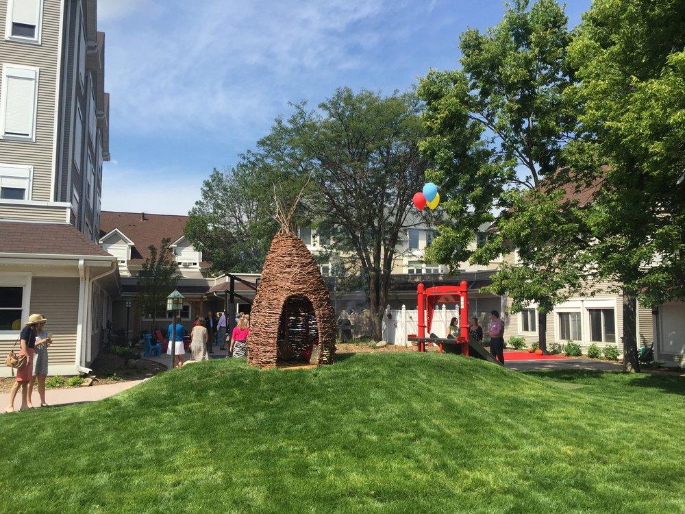 re-designed Oak Street space.