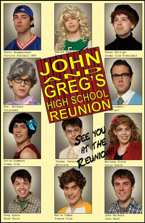 Poster for John and Greg's High School Reunion