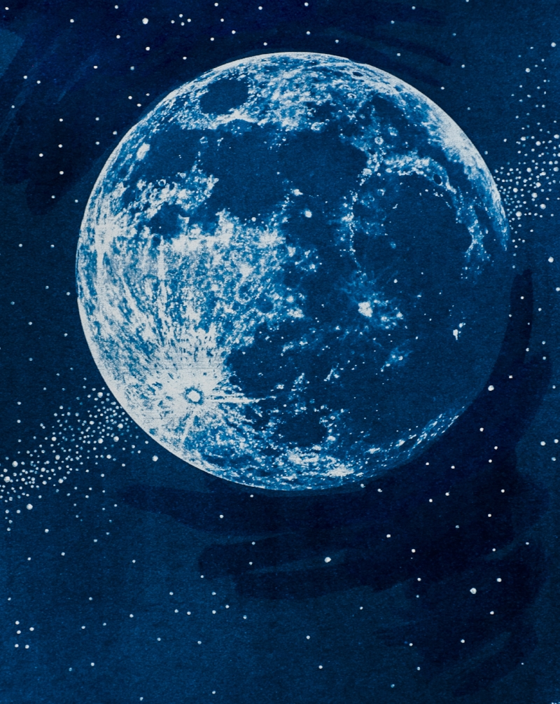 Big Blue Moon by Jocelyn Matthewes