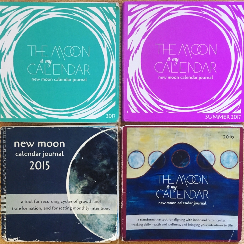 new moon calendar journal the moon is my calendar