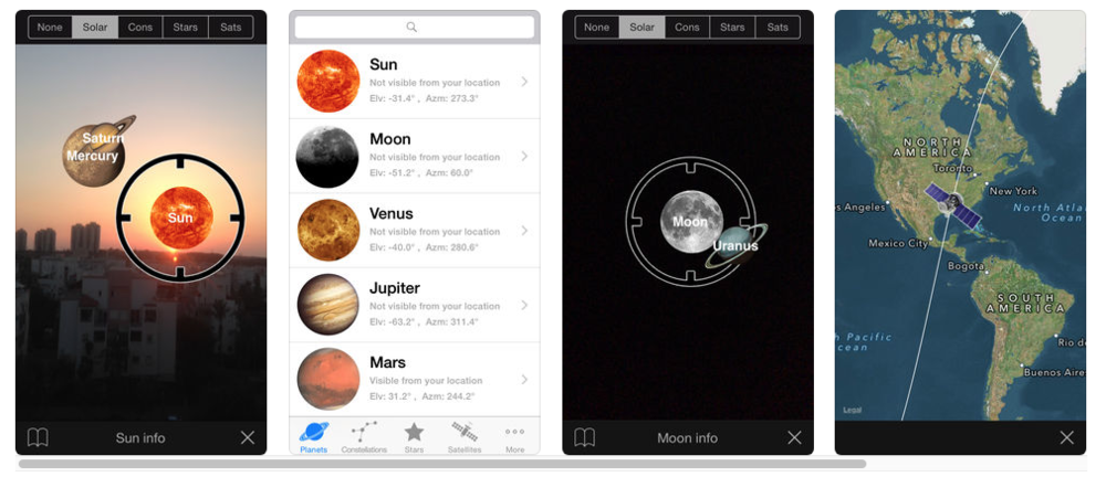 planet finder app #themoonismycalendar