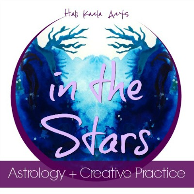in the stars astrology art creative practice #themoonismycalendar