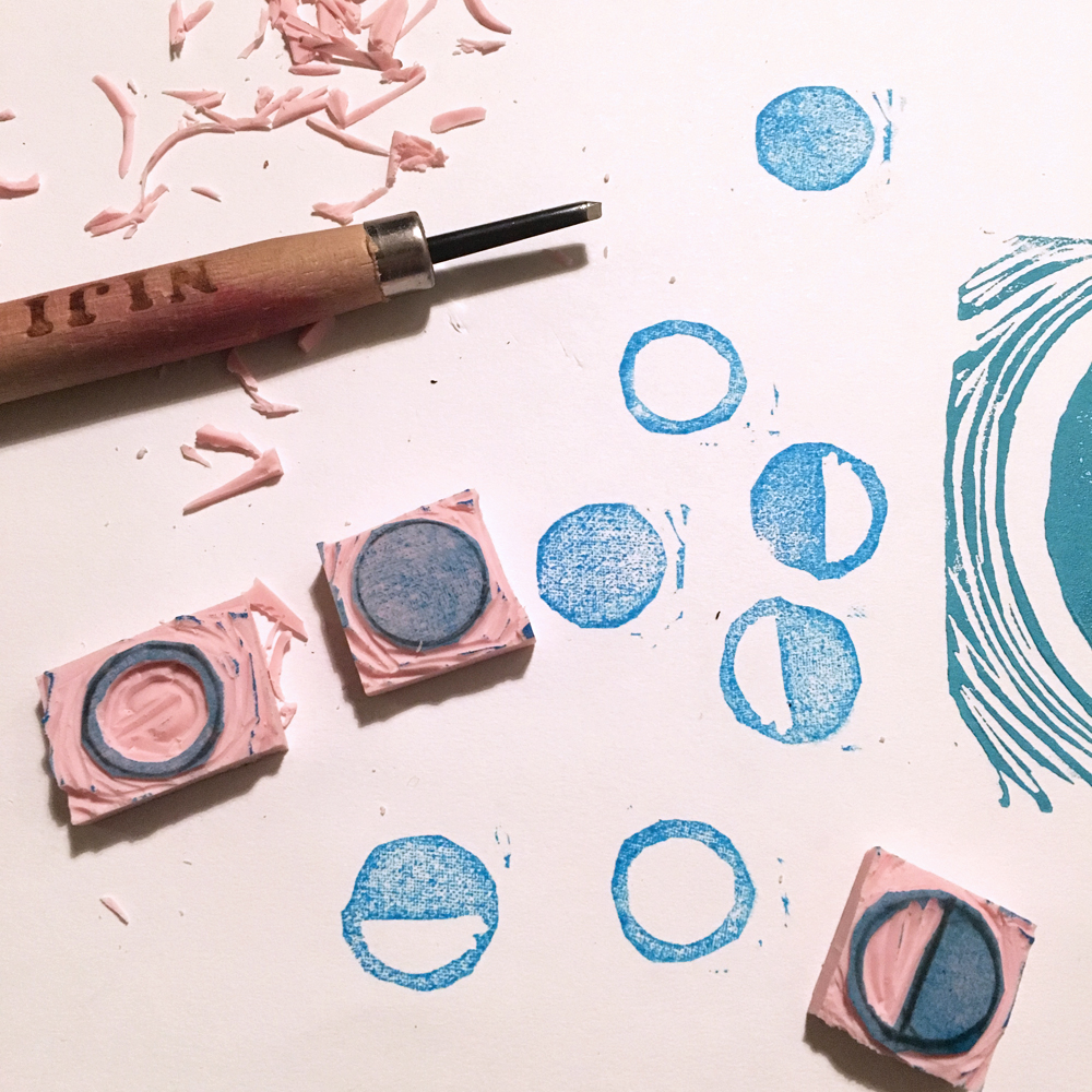 Annapurna Living: Moon Stamp Tutorial