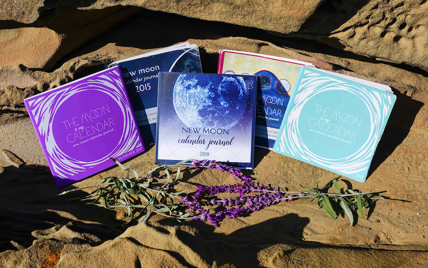 Previous New Moon Calendar Journal covers