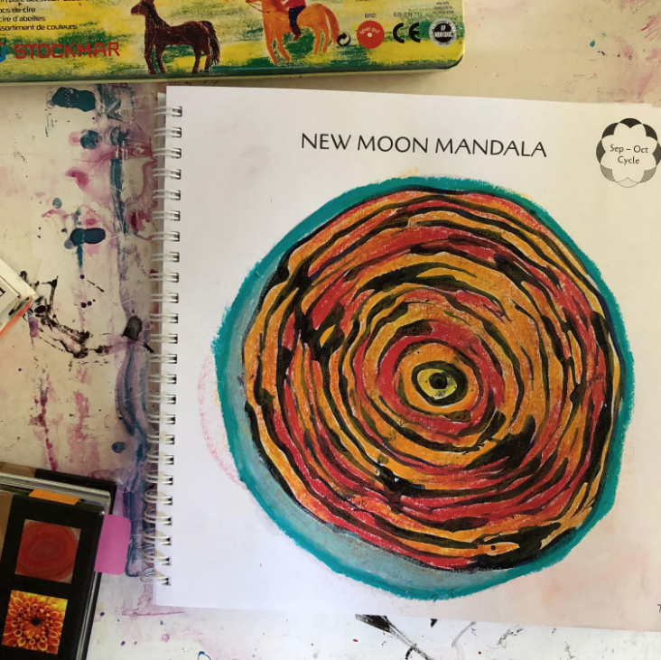 5bfa5e2d7 The Moon Mandala Collective — THE MOON IS MY CALENDAR