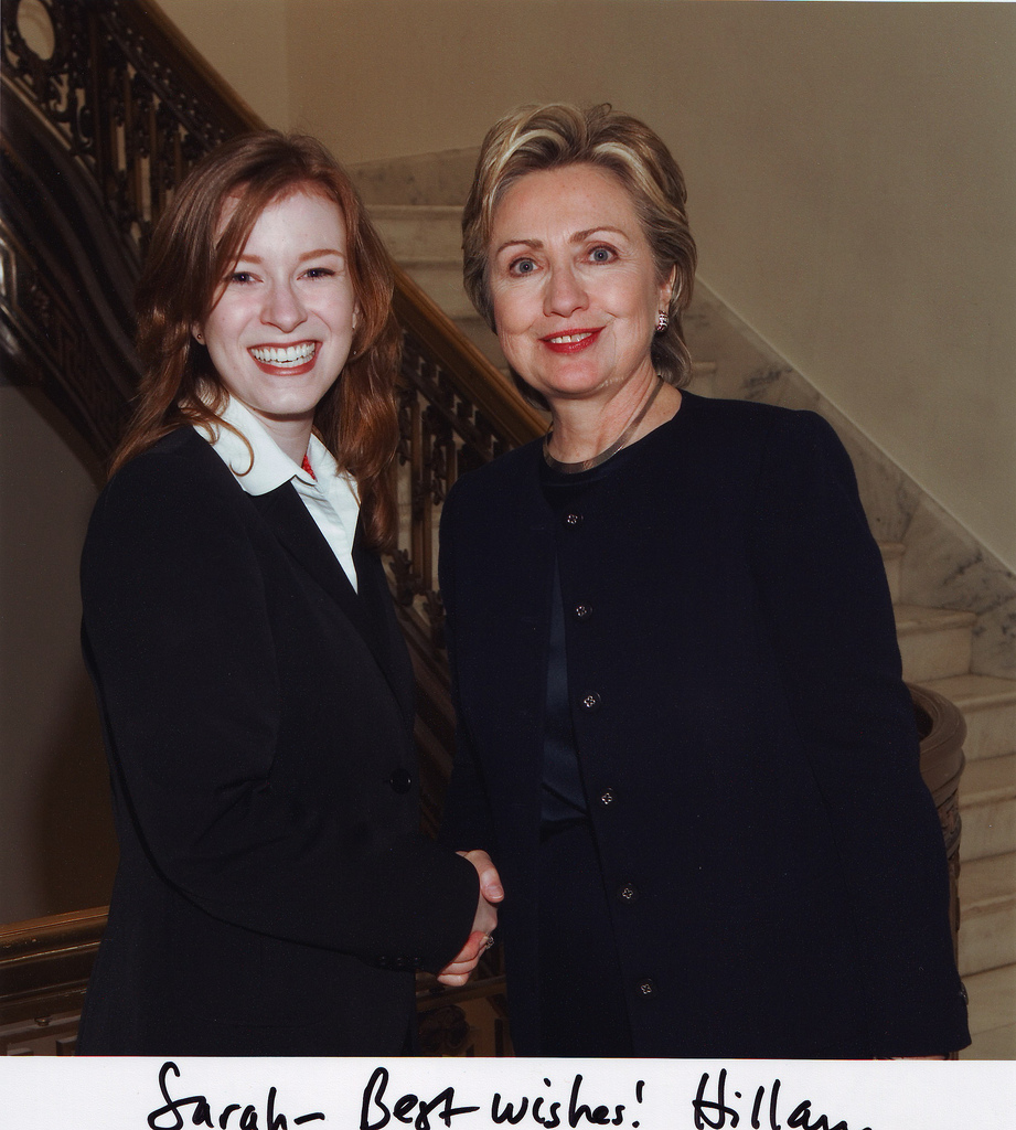 I worked for Hillary Clinton.