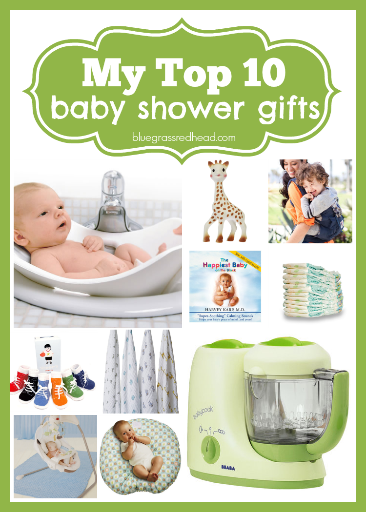 My Top 10 Baby Shower Gifts