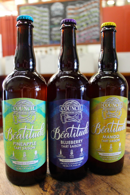 First 3 Beatitude Tart Saison Bottles