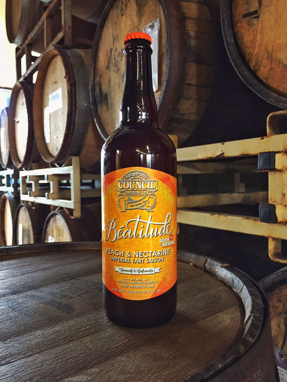 Peach and Nectarine Imperial Tart Saison