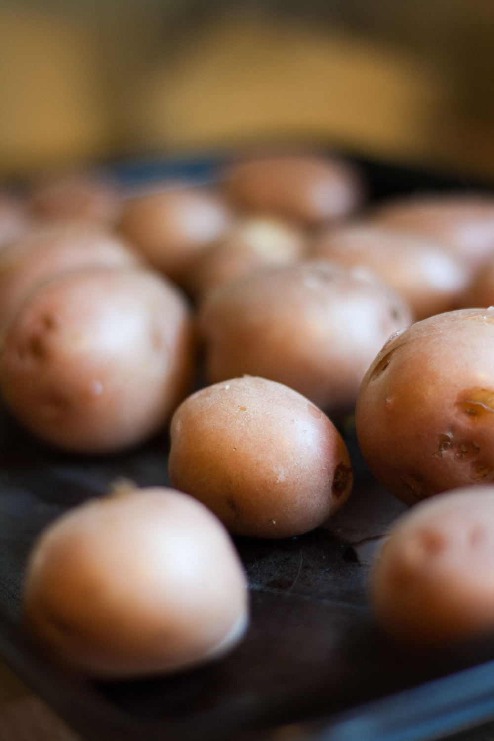 cooked red potatoes