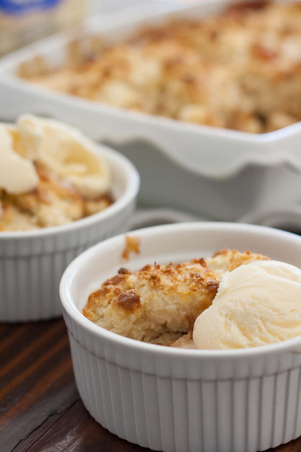 bourbon peach cobbler
