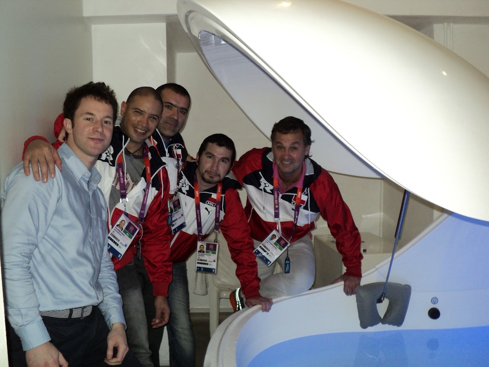 Chile Olympic Medical Physio Team.JPG