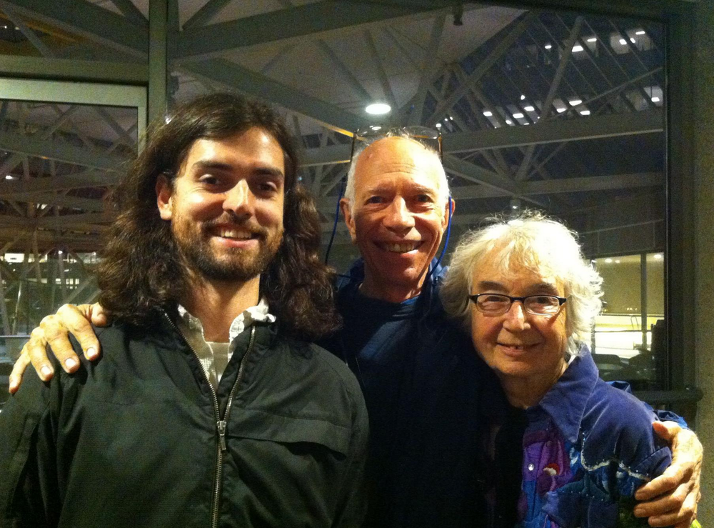 Dylan with Glen and Lee Perry, makers of the original float tanks and leaders of the American Float Tank Association!
