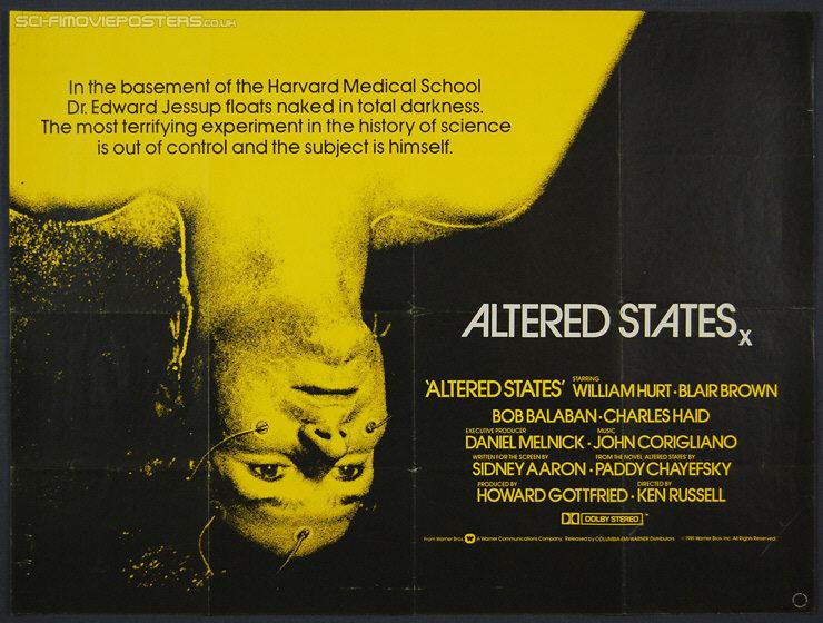 Resultado de imagen para Altered States