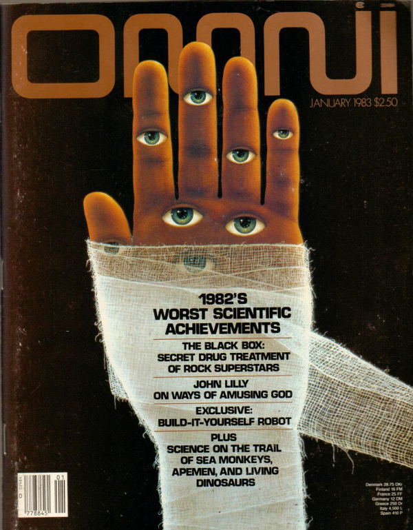 Omni, Interview with John C Lilly in Jan 1983