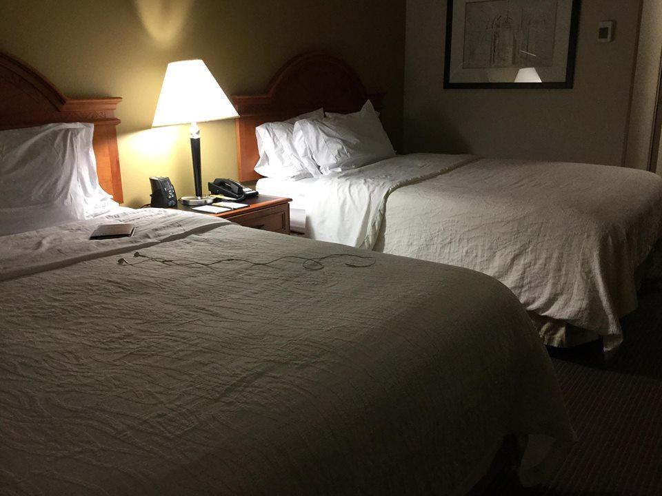 ケンタッキーのホテルに着きました。