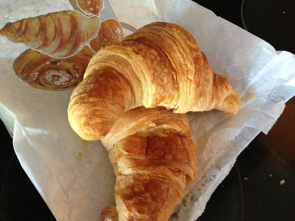 Mulots delicious croissants.